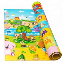 Kids Play Mat Children Activity Crawl Blanket Creeping Foam Room Floor Pad