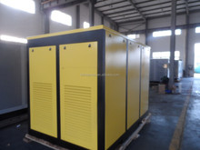 90KW direct driven rotary screw air compressor with water cooling