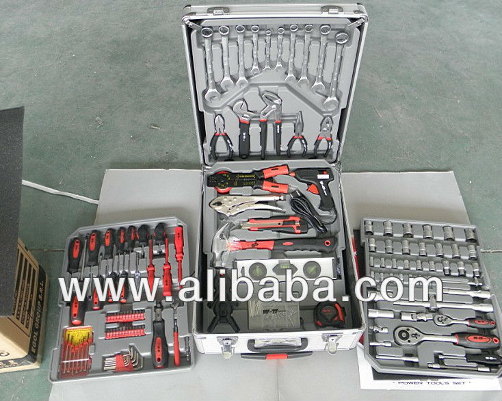 186 Pcs Tool Set BLEKED-FINKER trolley case
