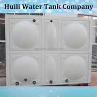 Factory price!! Dezhou Huili stainless steel sectional panel weld water storage tank