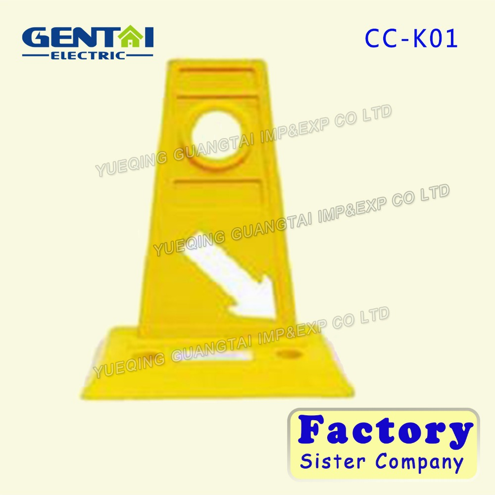 Wholesale Yellow Recycled Plastic Road Safety Lane Separator