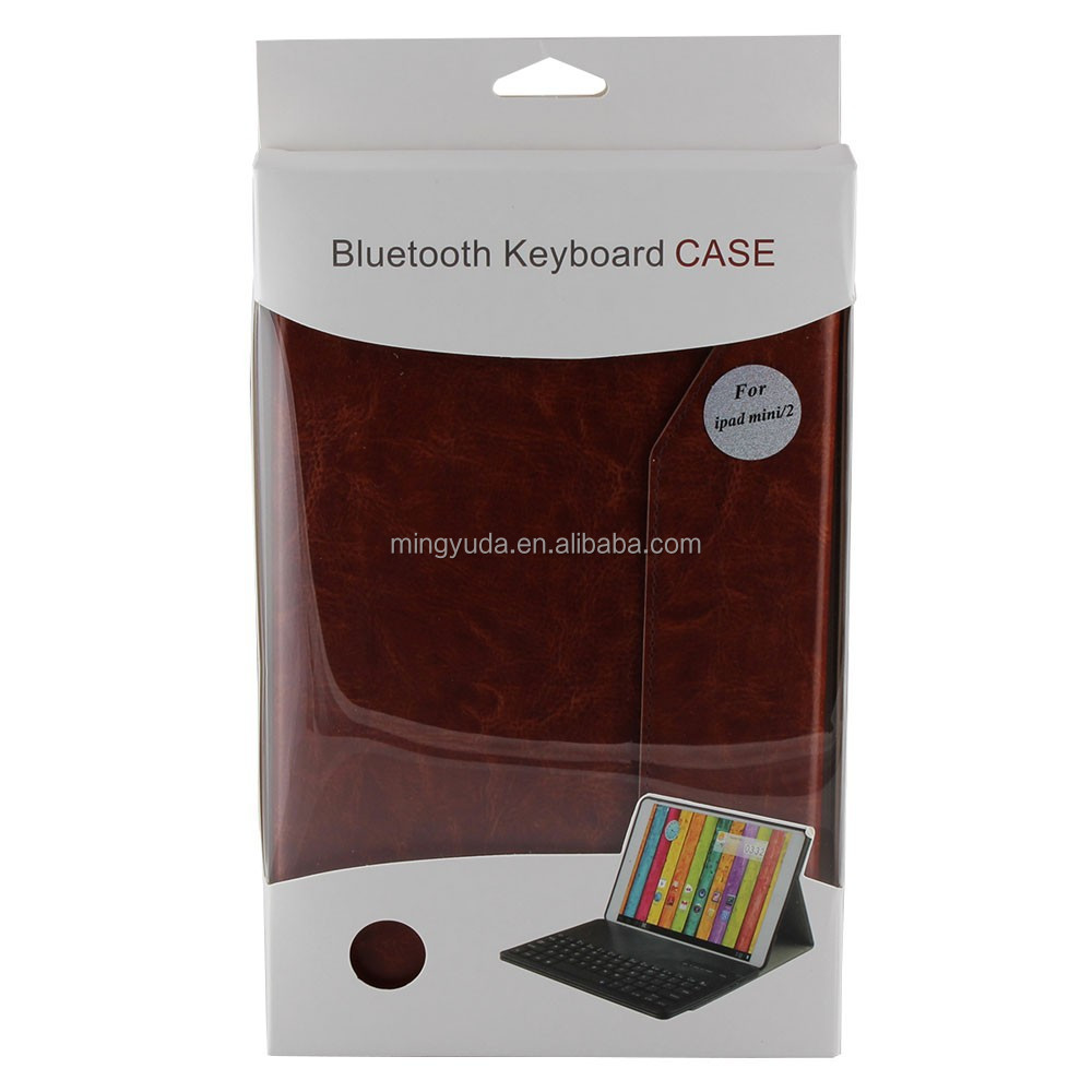 Hot selling LED light bluetooth keyboard cover for ipad mini case