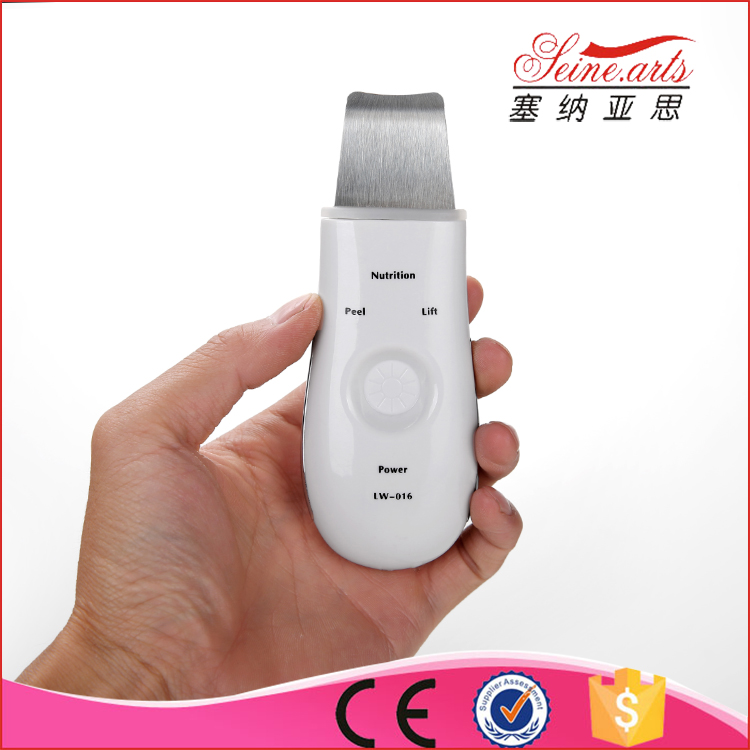 2016 LW-016 portable skin scrubber the newest ultrasonic beauty instrument