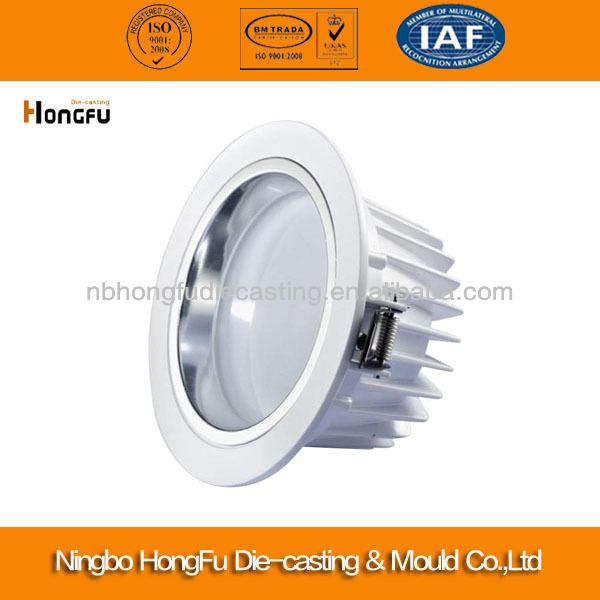 Customed aluminium led downlight accessories