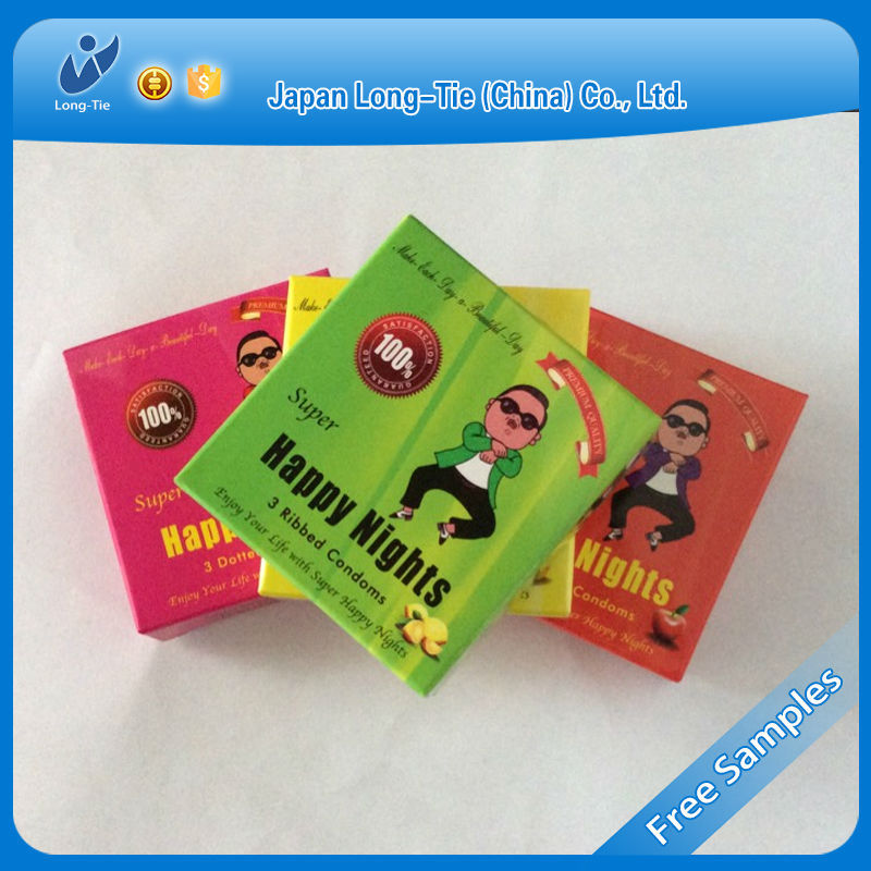 best flash condom, flavor condom, colored condom in private logo