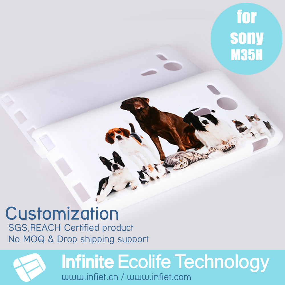 Phone accessories 2015 phone case printing for Sony Xperia SP M35H