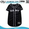 Custom 100% Polyester Baseball T-shirt For Unisex