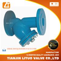 Y type Strainer filter WCB body Strainers Basket strainer for valve