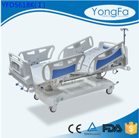 Plastic parts manufactuing center Linak motor used multifunction hydraulic electric hospital bed for sale