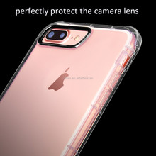 New Style Ultra-thin Transparent 4.7/5.5 inch cover for mobile Gel tpu antishock case for iphone7/7plus