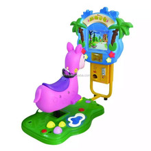Animal family---- racing game coin operated kiddy ride for sale arcade simulator horse racing game machine