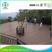 Outdoor Wood Plastic Composite Anti Uv Outdoor Wpc Deck Boards