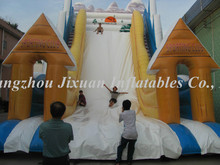 Christmas theme giant inflatable slide for adult/giant slide for sale