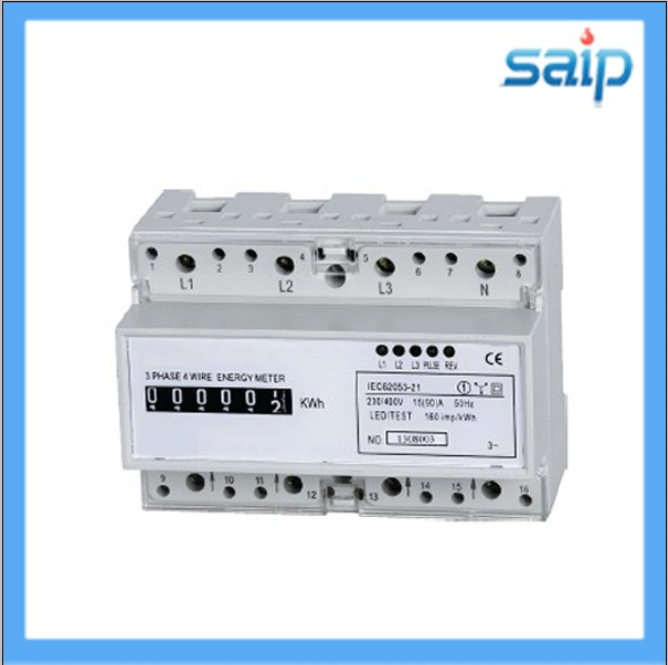 CE Approved Singal Phase Electricity Energy Electric Meter