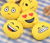 Custom size cute plush emoji bag for kids
