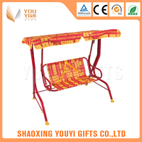 Factory Wholesale Fabric Furniture Two People indoor indian swing