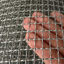 Anping factory!!! direct sale good quality Stainless steel crimped wire mesh/waterproof mesh screen