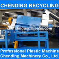 CHENDING waste used plastic pe pp bags film recycling washing cleaning line
