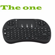 Hot Black 2.4GHz Rii Mini i8 Wireless English Keyboard With Touchpad Teclado Combo For PC HTPC Smart Android TV Box