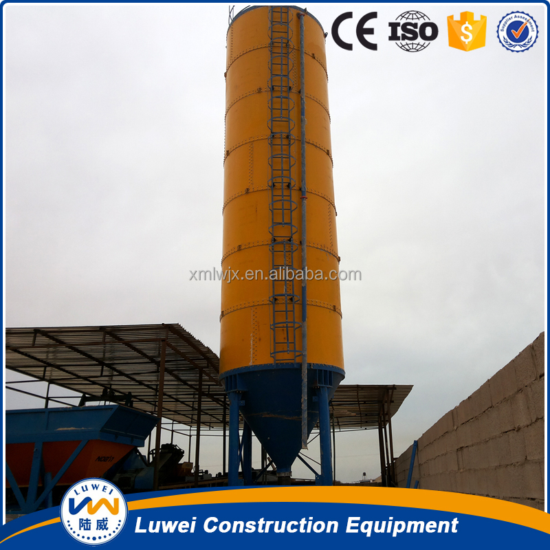 LUWEI 30T to 2000T Steel Powder Silo for clay brick construction