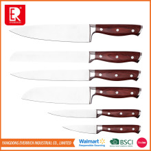 famous brand kitchen chef damascus knife set
