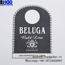 Metal Liquor Decanter Label,vodka bottle label tags