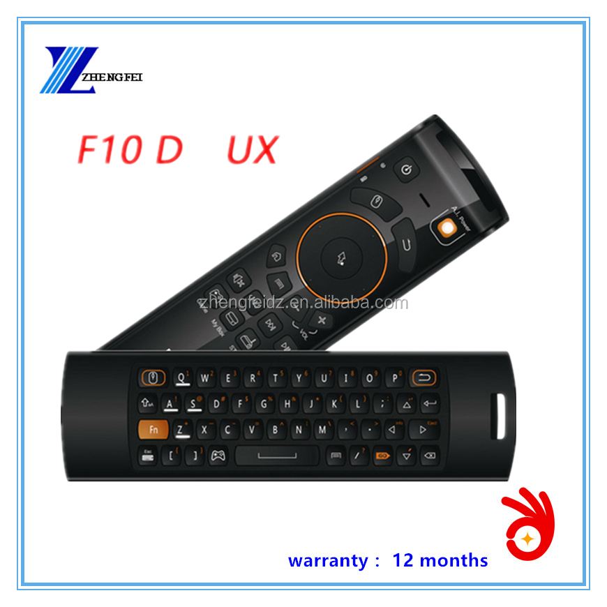 F10 Deluxe Flying Mouse Air Mouse And Wireless Keyboard Remote Controller Three In One For Android TV Set Top Box
