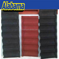 construction material corrugated roof tile, sand coated steel roofing tiles, stone granule coated steel roof tiles