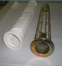 Dust Filtration polyester filter baghouse dust collector filter bag for free sample with water and oil repellent