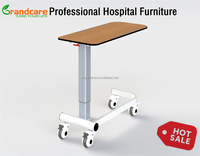 G-FW001 Tray Tables With Wheels Used For Hospital Patient Bed Side
