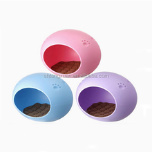 Plastic PET House/ Pet Egg-shape house Bed/ Plastic Dog Cage