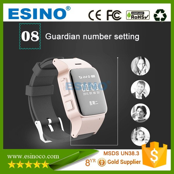 Latest Elder Person GPS Watch Waterproof Tracker, wrist watch gps trackers