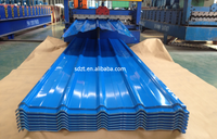 PPGI prepainted corrugated steel roofing sheet roof tile for building material prime quality and best price gold supplier
