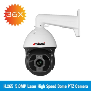 300M SONY IMX326 5.0MP HD IP PTZ Camera Laser 300M Infrared PoE Network Camera 36x zoom Vandal Proof Camera Promotion