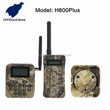 Portable Power off memory hunting duck call mp3 player with remote and power horn speaker H800PLUS