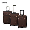 big twill two tone luggage bag set