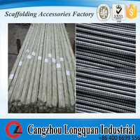 galvanized formwork tie rod 16mm for construction