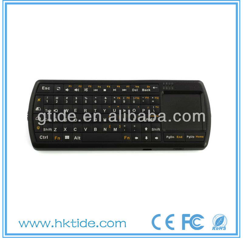 2013 hot selling Bluetooth 3.0 laptop light up keyboard