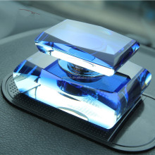 New designed car decoration glass bottle car air freshener