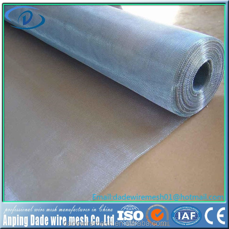 20 mesh twill woven Rfid Shielding material Monel /Nickel copper wire mesh/metal fabric