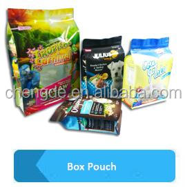 100% Food Grade Factory Provide Printed OPP laminated cold seal chocolate biscuits food packaging film