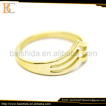 Baicheng golden ring jewelry 3d model dongguan factory