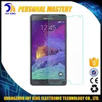 Wholesale Free Sample CellPhone Screen Protector For Samsung Galaxy Note 4 Tempered Glass