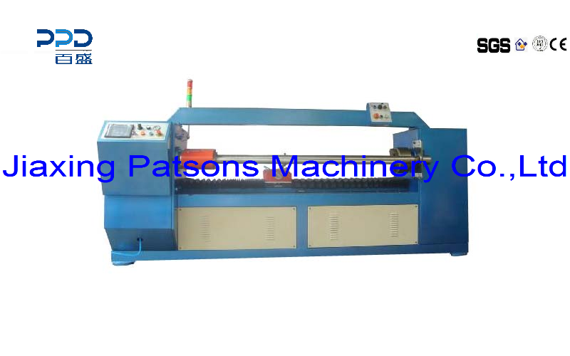 Automatic digital control paper core cutting machine