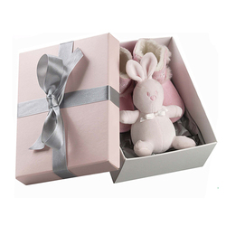 pink luxury baby shoe box packaging lovely, bow gift shoes box paper retail