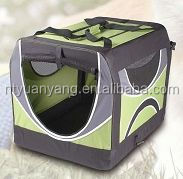 carrying folding soft fabric dog cage pet carrier dog transport kennel