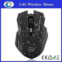 Personalized wireless gaming optical mouse