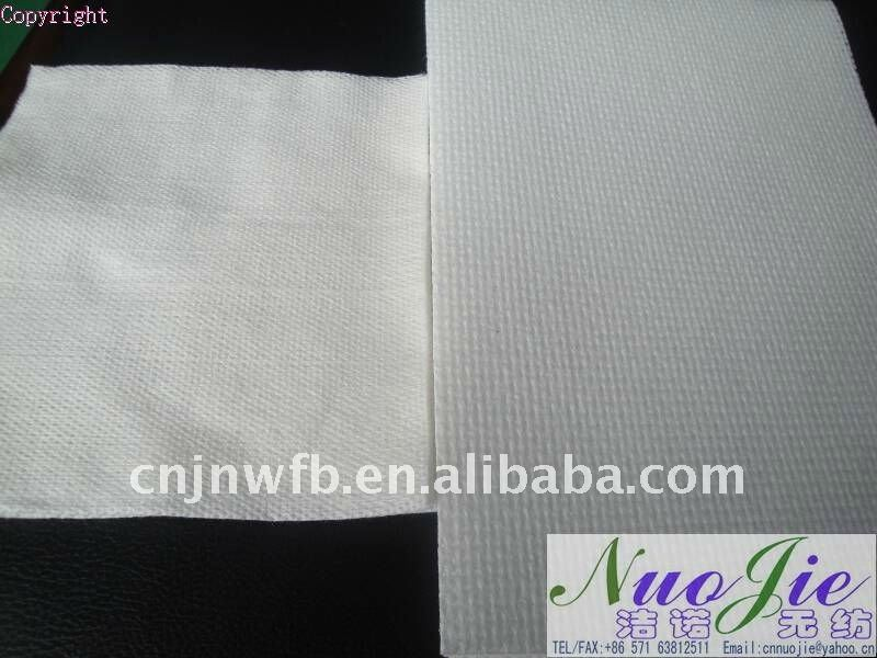 industrial nonwoven fabric wipe cloth