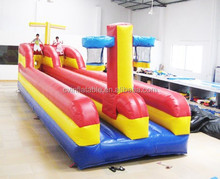 EN14960 commercial inflatable basketball bungee run for sale for rental