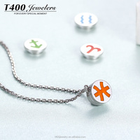 T400 Jewelry 925 sterling silver DIY necklace